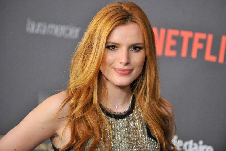 LOS ANGELES, CA - JANUARY 10: Bella Thorne arrives at the 2016 Weinstein Company and Netflix Golden Globes After Party on January 10, 2016 in Los Angeles, California. (Photo by Jerod Harris/Getty Images)