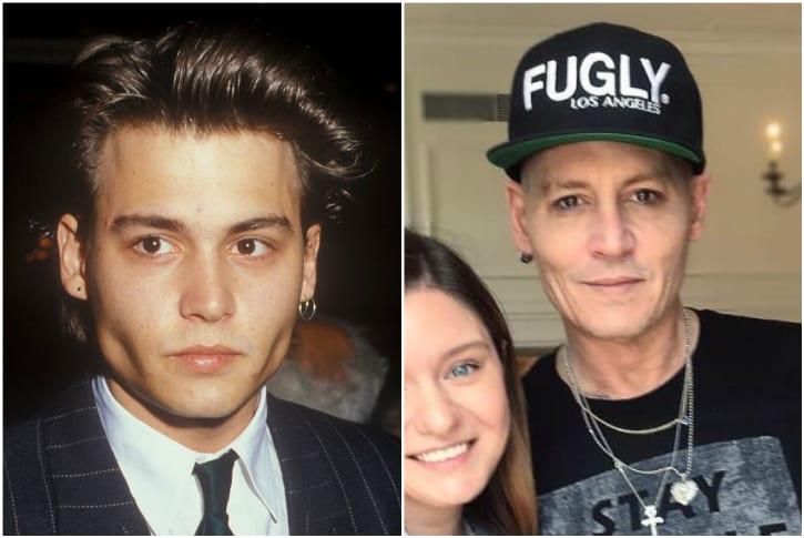 Celebridades que enfrentaram transformações com o tempo - Johnny Depp (Foto: Reprodução)