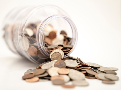 savings money coins
