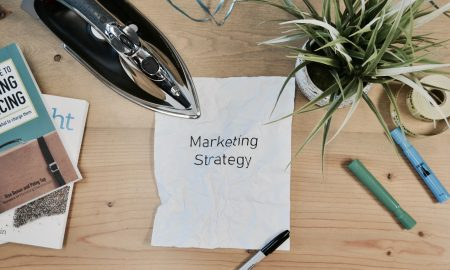 marketing strategy layout